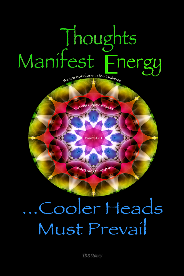 Thoughts Manifest Energy